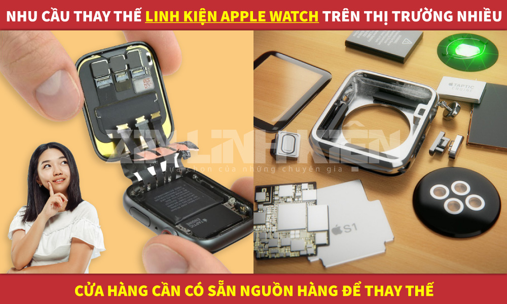 linh kiện apple watch