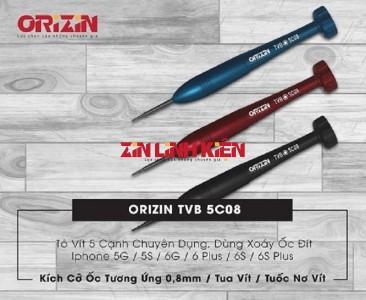 Orizin TVB 0.8mm 5 Cạnh - Tô Vít 5 Cạnh Chuyên Dụng, Kích Cỡ Ốc Tương Ứng 0,8mm