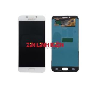 Màn Hình Nguyên Bộ Samsung Galaxy C5 Pro C5010 Zin Ép Kính, Màu Trắng
