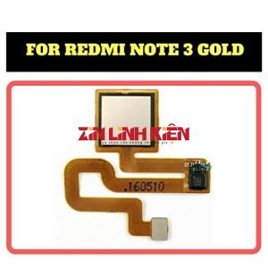 Xiaomi Redmi Note 3 - Cáp Cảm Biến Vân Tay Sau Lưng Xiaomi / Cáp Vân Tay Zin Bóc Máy, Màu Vàng Gold