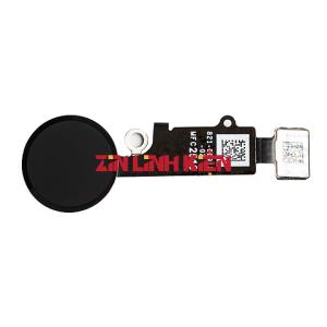 Apple Iphone 7 Plus - Cáp Home Vật Lý / Dây Bấm Phím Home Lắp Trong, Màu Đen, Loại Sử Dụng Được Phím Vật Lý