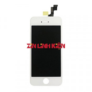 Apple Iphone 5S - Cảm Ứng Zin Liền Zon Original, Màu Trắng, Chân Connect, Ép Kính