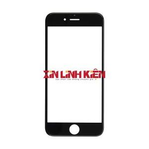 Apple Iphone 6 Plus - Mặt Kính Zin Liền Khung Ron, Màu Đen, Vào Keo OCA Sẵn, Ép Kính