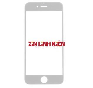 Apple Iphone 8 - Mặt Kính Zin Liền Khung Ron, Màu Trắng, Vào Keo OCA Sẵn, Ép Kính