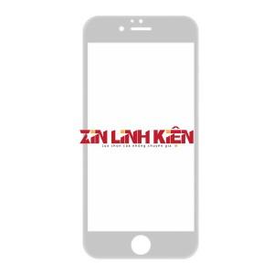 Apple Iphone 8 Plus - Mặt Kính Zin Liền Khung Ron, Màu Trắng, Vào Keo OCA Sẵn, Ép Kính