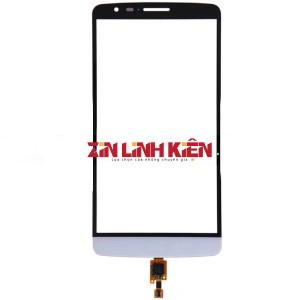 LG Optimus G3 D850 / D855 / D858 / F400 / F460 / G3 Verizon VS985 - Cảm Ứng High Coppy, Màu Trắng, Chân Connect, Ép Kính