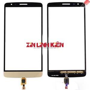 LG Optimus G3 D850 / D855 / D858 / F400 / F460 / G3 Verizon VS985 - Cảm Ứng High Coppy, Màu Vàng Gold, Chân Connect, Ép Kính