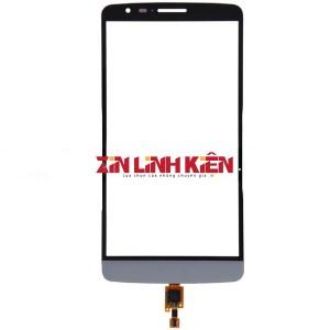 LG Optimus G3 D850 / D855 / D858 / F400 / F460 - Cảm Ứng Zin Original, Màu Xám, Chân Connect, Mạch Đồng, Ép Kính
