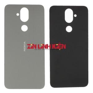 Nokia X7 2018 / 7.1 Plus 2018 Dual Sim - Nắp Lưng Ráp Máy, Trắng Bạc