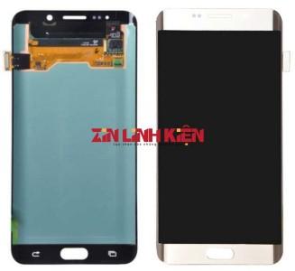 Samsung Galaxy S6 Edge Plus Việt Nam / SM-G928F - Màn Hình Nguyên Bộ Zin Ép Kính, Màu Trắng Sữa