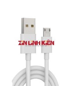 Cáp Dữ Liệu USB Foxconn Micro - Dùng Cho Các Máy Androi, Type Micro, Chất Liệu Dây Nhựa, Chiều Dài 1m, Màu Trắng Xiu Xanh - Công Ty TNHH Zin Việt Nam