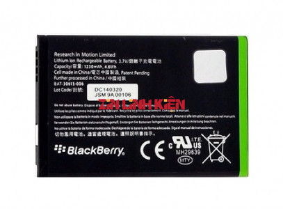 Pin BlackBerry BAT-30615-006 Cho J-M1 JM1 9850 9860 9900 9930, 1230mAh