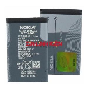 Pin Nokia BL-5C Dung Lượng Cao - Pin Đen