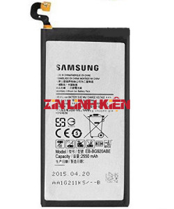 Pin Samsung EB-BG920ABE Dùng Cho Samsung Galaxy S6 G920F / G920S / G920I / G920V, Dung Lượng 2550mAh - Zin Linh Kiện