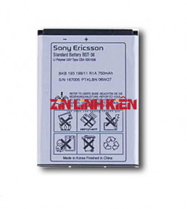 Pin Sony BST-36 Dùng Cho J300, K310i, K510i, Z550i, Z558i, K510i, W200i