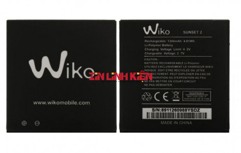 Pin Wiko Sunset 2