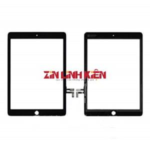 Apple Ipad Gen 5 9.7 Inch 2017 / 5th Generation / A1822 / A1823 - Cảm Ứng Zin Original, Màu Đen, Chân Connect, Ép Kính