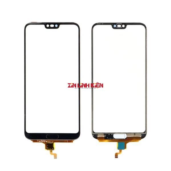 Huawei Honor 10 / COL-L29 - Cảm Ứng Zin, Xanh, Chân Connect, Ép Kính