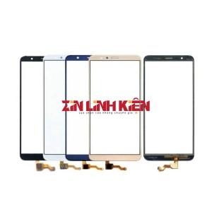 Huawei Honor 7X / BND-L21 - Cảm Ứng Zin, Xanh, Chân Connect, Ép Kính