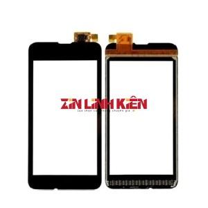 Nokia Lumia 530 / RM-1019 - Cảm Ứng Zin Original, Màu Đen, Chân hàn - Zin Linh Kiện