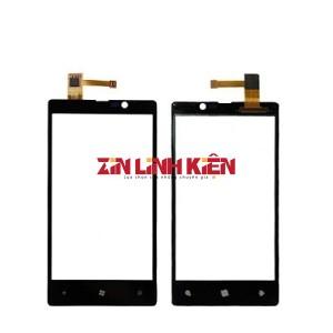 Nokia Lumia 720 - Cảm Ứng Zin Original, Màu Đen, Chân Connect, Mạch Đồng, Ép Kính - Zin Linh Kiện