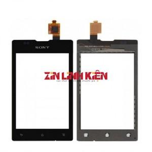 Sony Xperia E C1505 / E Dual C1605 - Cảm Ứng Zin Original, Màu Đen, Chân Connect