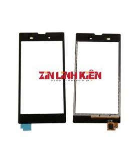Sony Xperia T3 Ultra D5102 / D5103 - Cảm Ứng Zin Original, Màu Đen, Chân Connect, Ép Kính