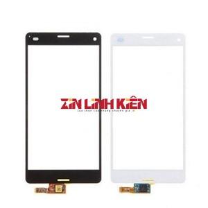 Sony Xperia Z3 mini / Z3 compact / D5803 / D5833 - Cảm Ứng Zin Original, Màu Trắng, Chân Connect, Ép Kính