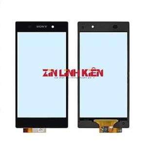 Sony Xperia Z1 L39 / LT39 / C6902 / C6903 / SOL23 - Cảm Ứng Zin Original, Màu Đen, Chân Connect, Ép Kính