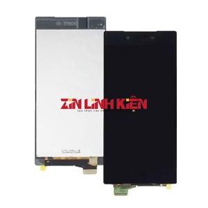 Sony Xperia Z5 Premium Dual E6883 - Cảm Ứng Zin Original, Màu Đen, Chân Connect, Ép Kính