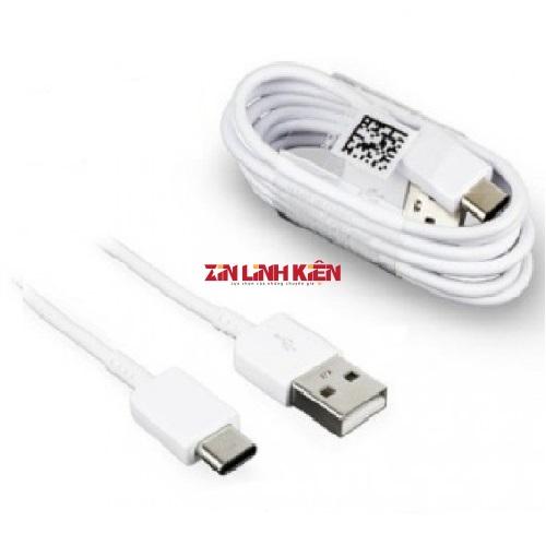 Cáp Dữ Liệu Samsung USB Type C - Cáp Dữ Liệu Chính Hãng Zin New Samsung, Dùng Cho Các Máy Androi, Type C, Chất Liệu Dây Nhựa Dầy, Chiều Dài 1m, Màu Trắng