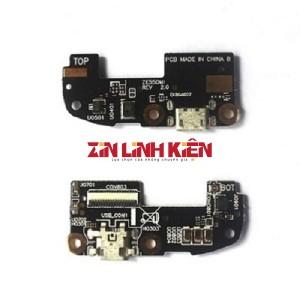 ASUS Zenfone 2 ZE551ML 2015 / Z00AD / Z00ADA / Z00ADB / Z00ADC - Cáp Sạc Kèm Mic / Bo Sạc / Main Sạc / Cổng Sạc USB / Bảng Mạch Chân Sạc / Dây Chân Sạc Lắp Trong Kèm Micro