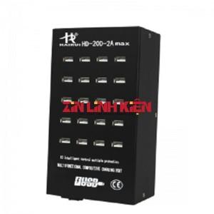 Cổng USB HD-20D-2A Max - Cổng Kết Nối USB 20 Đầu Ra 2A, USB Sub 20 Cổng