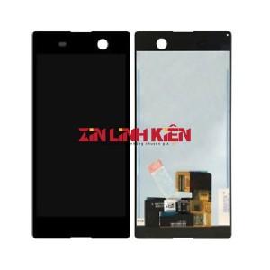 Sony Xperia M5 Dual / E5663 - Màn Hình Nguyên Bộ Zin Ép Kính, Màu Đen - Zin Linh Kiện