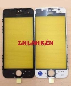 Apple Iphone 6 Plus - Mặt Kính Liền Khung Ron, Màu Đen, Ép Kính
