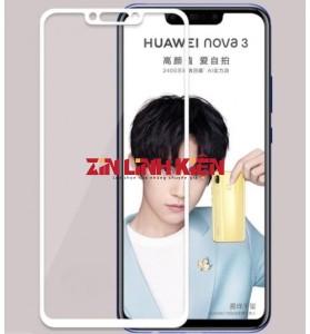 Huawei Nova 3 2018 / PAR-AL00 / PAR-TL00 / PAR-TL20 / PAR-LX1 / PAR-LX9 - Mặt Kính Zin New Huawei, Màu Trắng, Ép Kính
