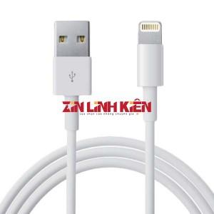 Cáp Dữ Liệu USB Iphone Type Lightening - Zin New Apple, Chiều Dài 1m, Màu Trắng