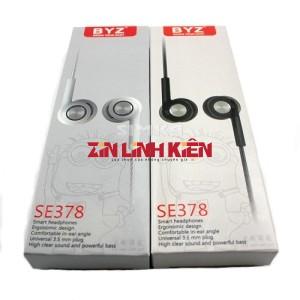 BYZ SE378 - Tai Nghe Đa Năng Insert Earphones, Hàng Chính Hãng BYZ / Tai Nghe In-Ear Monitors, IEM - Zin Linh Kiện