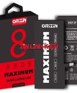 Pin iphone 8 Plus Orizin Maximum BIP8P, Dung Lượng Cực Đại 3250mAh
