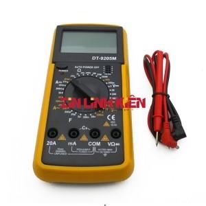 BEST BST-9205M / DT-9205M - Đồng Hồ Đo Volt Điện Tử, Gồm 1 Đồng Hồ Và 1 Dây 2 Đầu Bút Kim