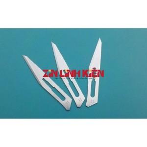 Repair Tools - Lưỡi Dao Nhỏ Loại Tốt, Kích Thước 11, Một Gói Gồm 10 Lưỡi