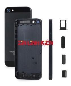 Apple Iphone 5S - Bộ Vỏ Ráp Máy / Khung Xương Lắp Máy, Màu Đen, Có Kính Camera Trên / Dưới, Có Sẵn Imei