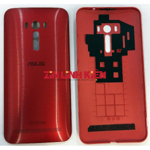 Asus Zenfone Selfie ZD551KL 2015 / Z00UD / ZD550KL - Nắp Lưng Ráp Máy, Màu Đỏ - Công Ty TNHH Zin Việt Nam