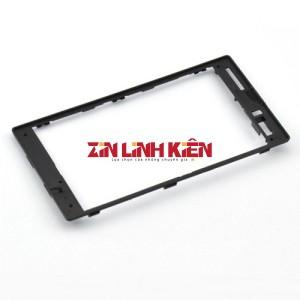 Nokia Lumia 520 / 525 Khung Doong Dán Viền Có Keo Sẵn Đen / Khung Zon