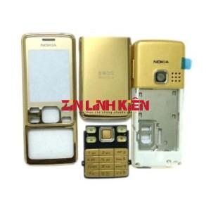 Nokia 6300 - Vỏ Ráp Máy Kèm Bàn Phím, Màu Cà Phê