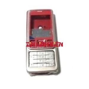 Nokia 6300 - Vỏ Ráp Máy Kèm Bàn Phím, Màu Đỏ