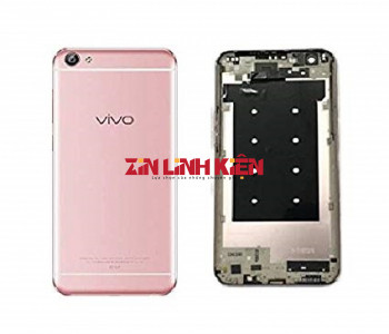 Vivo V5 / V5S / 1601 / Y67 - Vỏ Ráp Máy Gồm Nắp Lưng Liền Bo Viền, Màu Vàng Gold