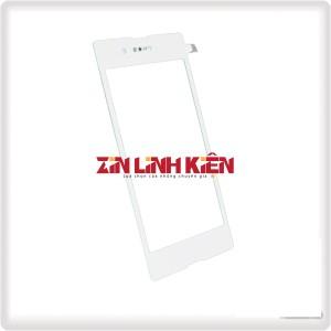 Sony Xperia E3 / D2202 - Cảm Ứng Zin Trắng, Chân Connect, Ép Kính