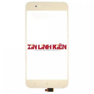 Xiaomi Mi A1 / Mi 5X - Cảm Ứng Zin Original, Màu Gold, Chân Connect, Ép Kính